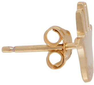 Jennifer Zeuner Jewelry Jz By JZ by 18K Plated Icon Stud Earrings