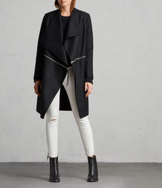 AllSaints Ora Zip Coat