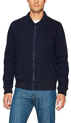 Naked & Famous Denim Men's Basketweave Bomber Jacket