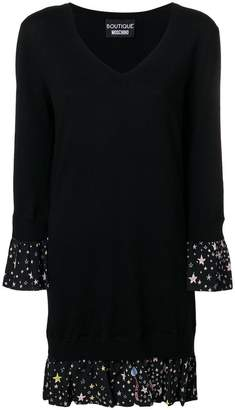 Moschino jumper style short dress