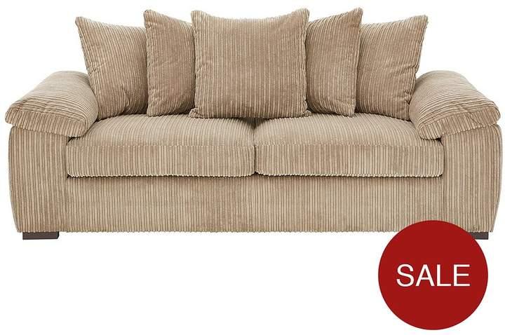 Amalfi 3 Seater Scatter Back Fabric Sofa