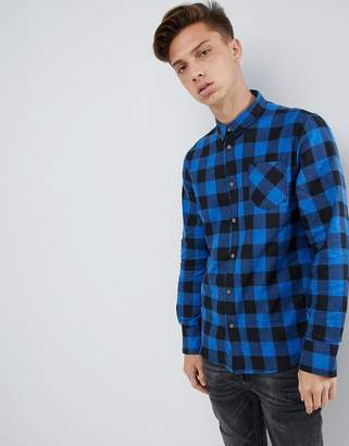 Brave Soul Flannel Buffalo Plaid Shirt