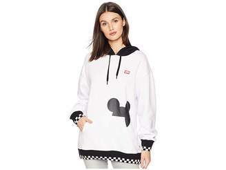 Vans Mickey's 90th Checkerboard Mickey Fleece