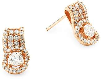 LeVian Le Vian Women's Diamond & 14K Rose Gold Earrings