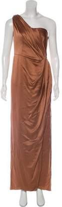 Alberta Ferretti Sleeveless Evening Dress