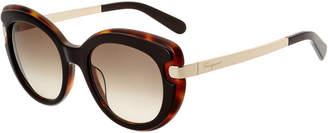 Salvatore Ferragamo Women's Sf813s 52Mm Sunglasses