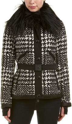 Moncler Wool-Blend Coat