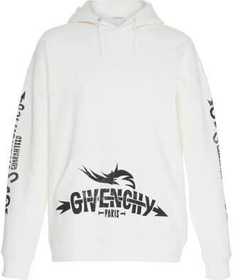 Givenchy Logo Graphic Cotton-Jersey Sweatshirt