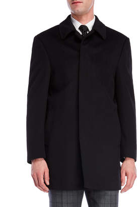 Lauren Ralph Lauren Black Jake Overcoat