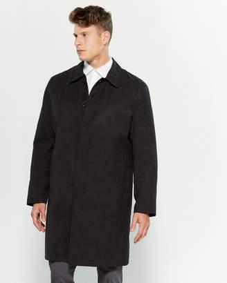 London Fog Black Durham Raincoat