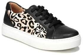 Naturalizer Cairo Cheetah Print Calf Hair Leather Sneakers