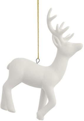GLUCKSTEINHOME Ceramic Deer Ornament