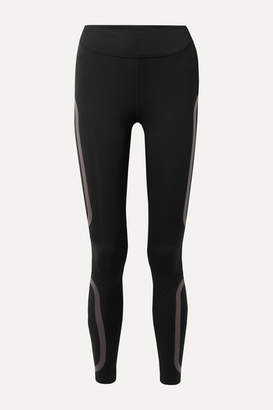 Nike Epic Lux Rubber-trimmed Dri-fit Leggings - Black