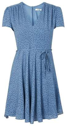 Glamorous Womens **Short Sleeve Tea Dress