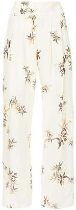 Matin Madryn Bamboo Print Pleat Pants
