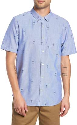 Vans Houser Palm Tree Woven Shirt