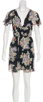 Reformation Floral Primt Mini Dress w/ Tags