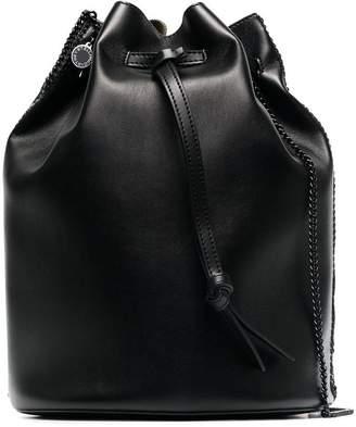 Stella McCartney Black Falabella bucket bag