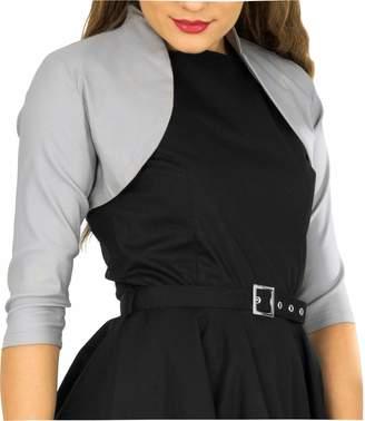 BlackButterfly Tailored 3/4 Sleeve Bolero (, US)