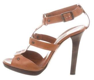 Jimmy Choo Leather Strap Sandals