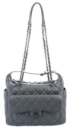 Chanel Quilted Lambskin Hobo