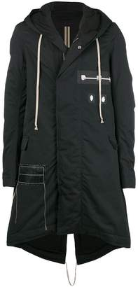 Rick Owens Darkshadow raincoat
