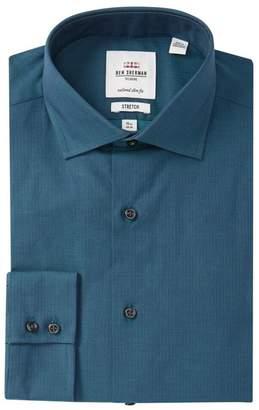 Ben Sherman Tailored Slim Fit Solid Dress Shirt