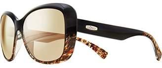 Revo RE 1055 Devin Polarized Butterfly Sunglasses