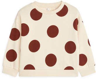 Arket Polka Dot Sweatshirt