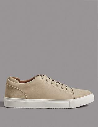 Marks and Spencer Suede Lace-up Trainers