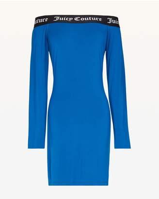 Juicy Couture Juicy Jacquard Off Shoulder Dress