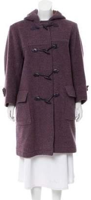 Saint Laurent Wool Hooded Jacket