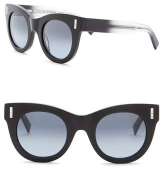 Boucheron 48mm Cat Eye Sunglasses