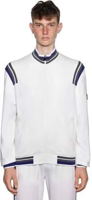 Ermenegildo Zegna Techmerino Zip-Up Wool Jacket