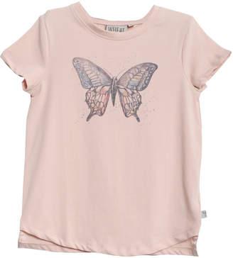 Wheat T-shirt Butterfly