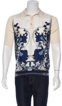 Gucci Silk Cashmere Polo w/ Tags