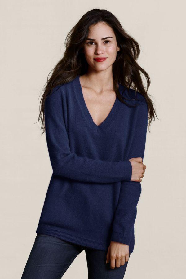 Women's Angora Boyfriend Sweater