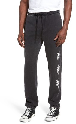 Men's Quiksilver Skull Cross Print Sweatpants $45 thestylecure.com
