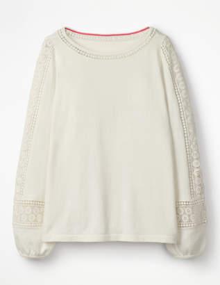 Boden Lylah Lace Sweater