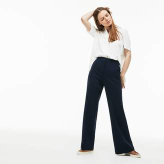Lacoste Women's Flowing Milano Knit Pants