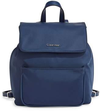 Calvin Klein Abby Flap Backpack