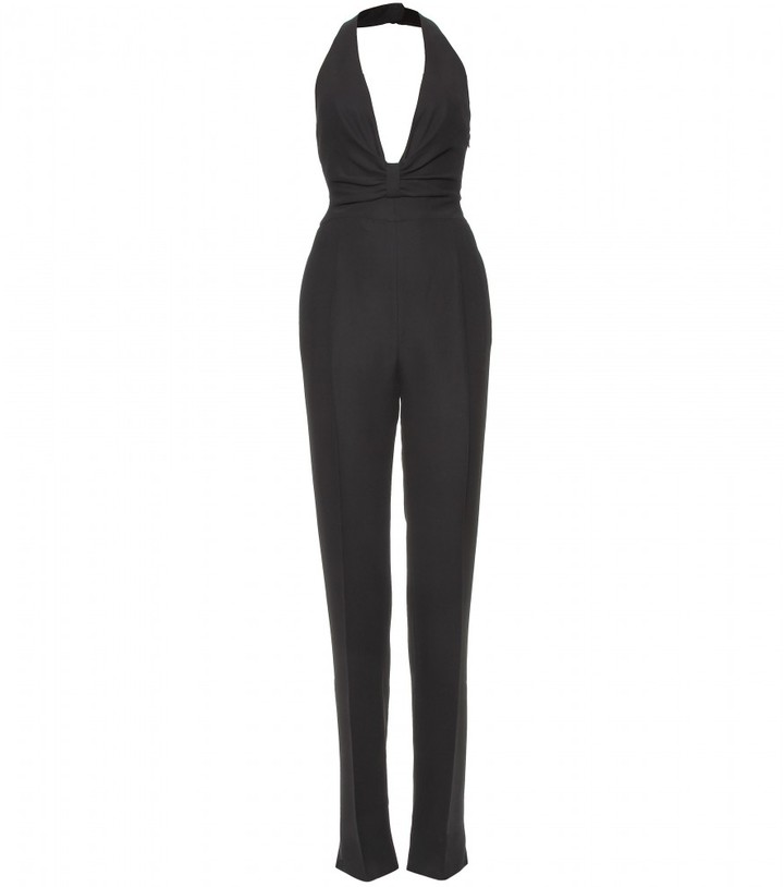 Valentino BOW DETAILED JUMPSUIT