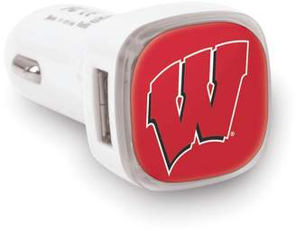 Wisconsin Badgers 2-Port Cellphone Car Charger