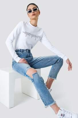 Cheap Monday Donna Pixel Blue Jeans Pixel Blue