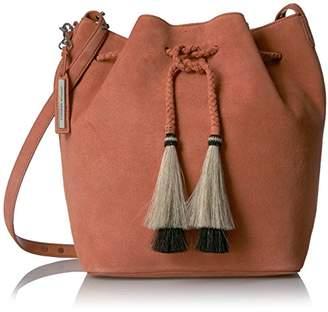 Loeffler Randall Drawstring Hobo (Suede/Horse Hair Tassels)