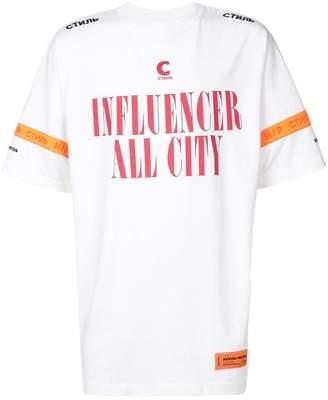 Heron Preston influencer printed T-shirt