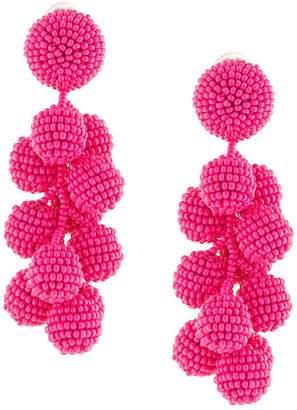 Sachin + Babi seedbead bubble earrings