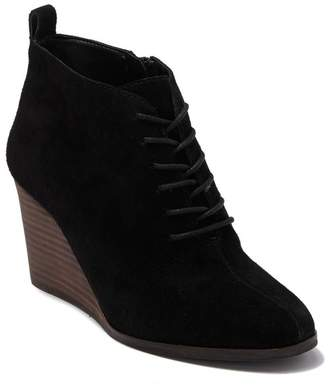 Lucky Brand Yoanna Lace Up Wedge Bootie