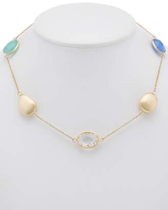 Rivka Friedman 18K Clad Rock Crystal Necklace