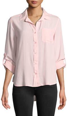 Velvet Heart Elisa Button-Up Blouse
